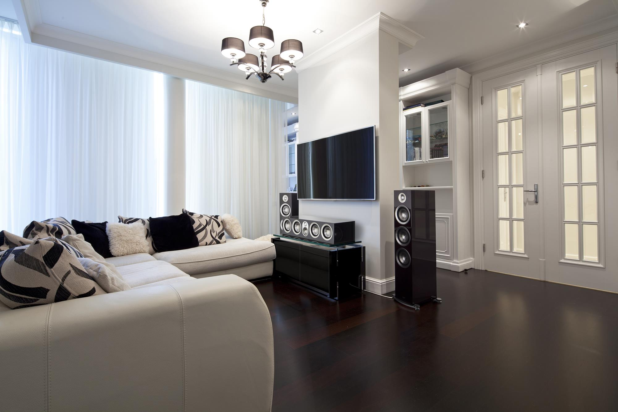 residential audio room